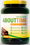 About Time 100 percent Whey Protein Isolate Chocolate 2 lbs 908 g About Time: 14 Reviews & $10 Coupon*