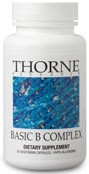 Thorne Research Basic B Complex Reviews