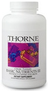 Thorne Research Basic Nutrients III Reviews