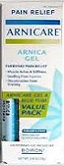 Boiron Arnicare Gel & Blue Tube Value Pack 2.6 oz (75 g)