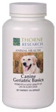 Thorne Research Canine Geriatric Basics Reviews