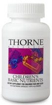 Thorne Research Children's Basic Nutrients Reviews