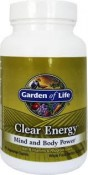 Garden of Life Clear Energy Mind and Body Power 100 mg 60 Veggie Caplets