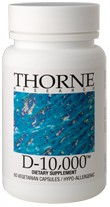 Thorne Research D-10000 Reviews