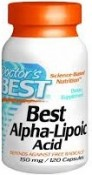 Doctor's Best Alpha Lipoic Acid 120 Capsules