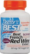 Doctor's Best French Red Wine Extract 90 Veggie Caps