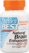 Doctor's Best Natural Brain Enhancers 60 Veggie Caps