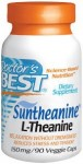 Doctor's Best Suntheanine L-Theanine 150 mg 90 Veggie Caps