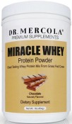 Dr. Mercola Miracle Whey Protein Powder Chocolate 1 lb (454 g)