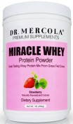 Dr. Mercola Miracle Whey Protein Powder Strawberry 1 lb (454 g)