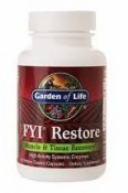 Garden of Life FYI Restore 60 Enteric Coated Capsules