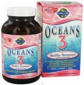 Garden of Life Oceans 3 Healthy Hormones with OmegaXanthin 90 Softgels