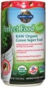 Garden of Life Perfect Food RAW Organic Green Super Food Apple 7.9 oz (224)