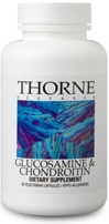Thorne Research Glucosamine & Chondroitin Reviews