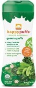 Happy Baby Green Puffs 2.1 oz (60 g)