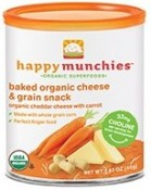 Happy Baby Happy Munchies Cheddar Cheese and Carrot 1.63 oz (46 g)