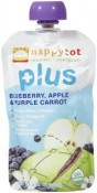 Happy Baby Happytot Organic Superfoods Plus Blueberry Apple & Purple Carrot 4.22 oz (120 g)