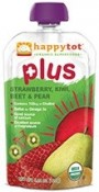 Happy Baby Happytot Organic Superfoods Plus Strawberry Kiwi Beet & Pear 4.22 oz (120 g)