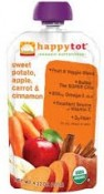 Happy Baby Happytot Organic Superfoods Sweet Potato Apple Carrot & Cinnamon 4.22 oz (120 g)