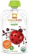 Happy Baby Organic Baby Food Apple Starting Solids 1 3.5 oz (99 g)