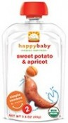 Happy Baby Organic Baby Food Apricot & Sweet Potato 3.5 oz (99 g)