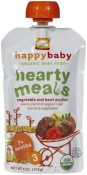 Happy Baby Organic Baby Food Hearty Meals Vegetable and Beef Medley 4 oz (113 g)