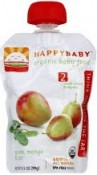 Happy Baby Organic Baby Food Spinach Mango & Pear Stage 2 6+ Months 3.5 oz (99 g)