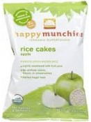 Happy Baby Happymunchies Rice Cakes Apple 1.4 oz (40 g)