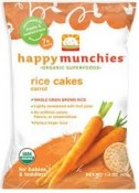 Happy Baby happymunchies Rice Cakes Carrot 1.4 oz (40 g)