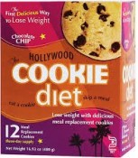 Hollywood Diet Cookie Chocolate Chip 12 Meal Replacement Cookies