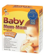Hot Kid Baby Mum Mum Rice Biscuits Original Hot Kid Baby Mum Mum Free With $10 Coupon* & 326 Reviews