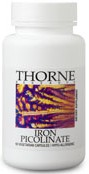 Thorne Research Iron Picolinate Reviews