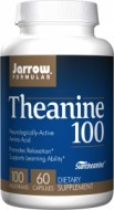 Jarrow Formulas Theanine 100 100 mg 60 Capsules