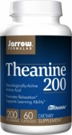 Jarrow Formulas Theanine 200 200 mg 60 Capsules