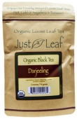 Just a Leaf Organic Black Tea Darjeeling 2 oz (56 g)