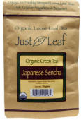 Just a Leaf Organic Green Tea Japanese Sencha 2 oz (56 g)