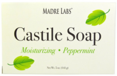 Madre Labs Castile Soap Bar Peppermint 5 oz (141 g)