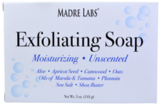 Madre Labs Exfoliating Soap Bar Unscented 5 oz (141 g)