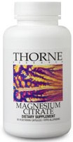 Thorne Research Magnesium Citrate Reviews