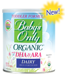Natures One Babys Only Organic Toddler Formula With DHA ARA 12.7 oz 360 g Nature's One: $10 Coupon & 48 Reviews*