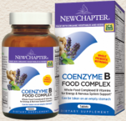 New Chapter Coenzyme B Food Complex 180 Tablets
