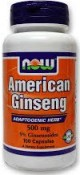Now Foods American Ginseng 100 Capsules