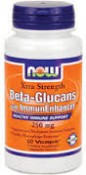 Now Foods Beta-Glucans with ImmunEnhancer 60 Veggie Caps