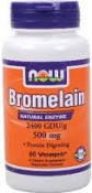 Now Foods Bromelain 120 Vcaps