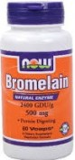 Now Foods Bromelain 60 Veggie Caps