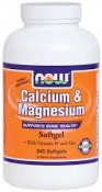 Now Foods Calcium & Magnesium 240 Softgels