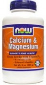 Now Foods Calcium & Magnesium Powder 8 oz (227 g)