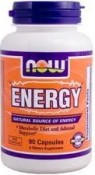 Now Foods Energy 90 Capsules