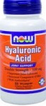 Now Foods Hyaluronic Acid Double Strength 100 mg 60 Veggie Caps