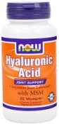 Now Foods Hyaluronic Acid With MSM 120 Vcaps